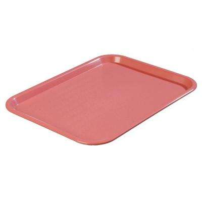 14 in. x 18 in. Polypropylene Serving/Food Court Tray in Mauve (Case of 12)