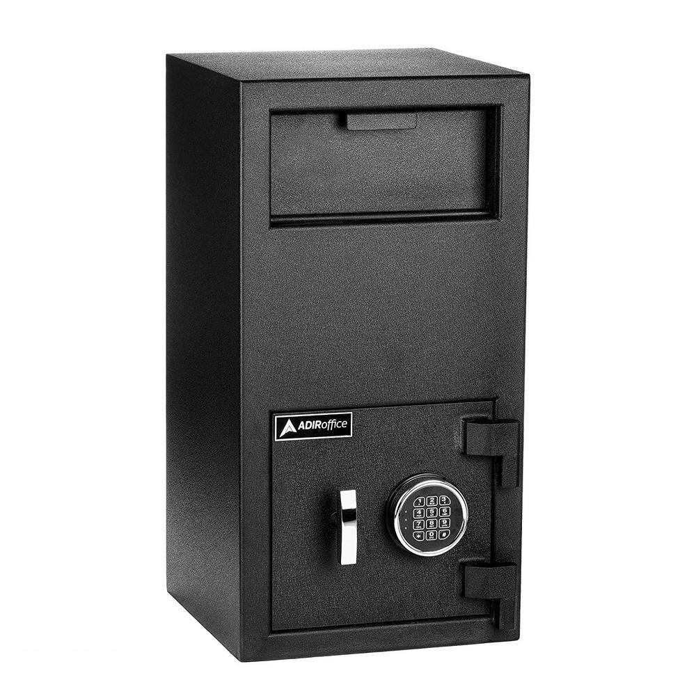 3 cu. ft. Steel Large Depository Safe with Digital Keypad, Black