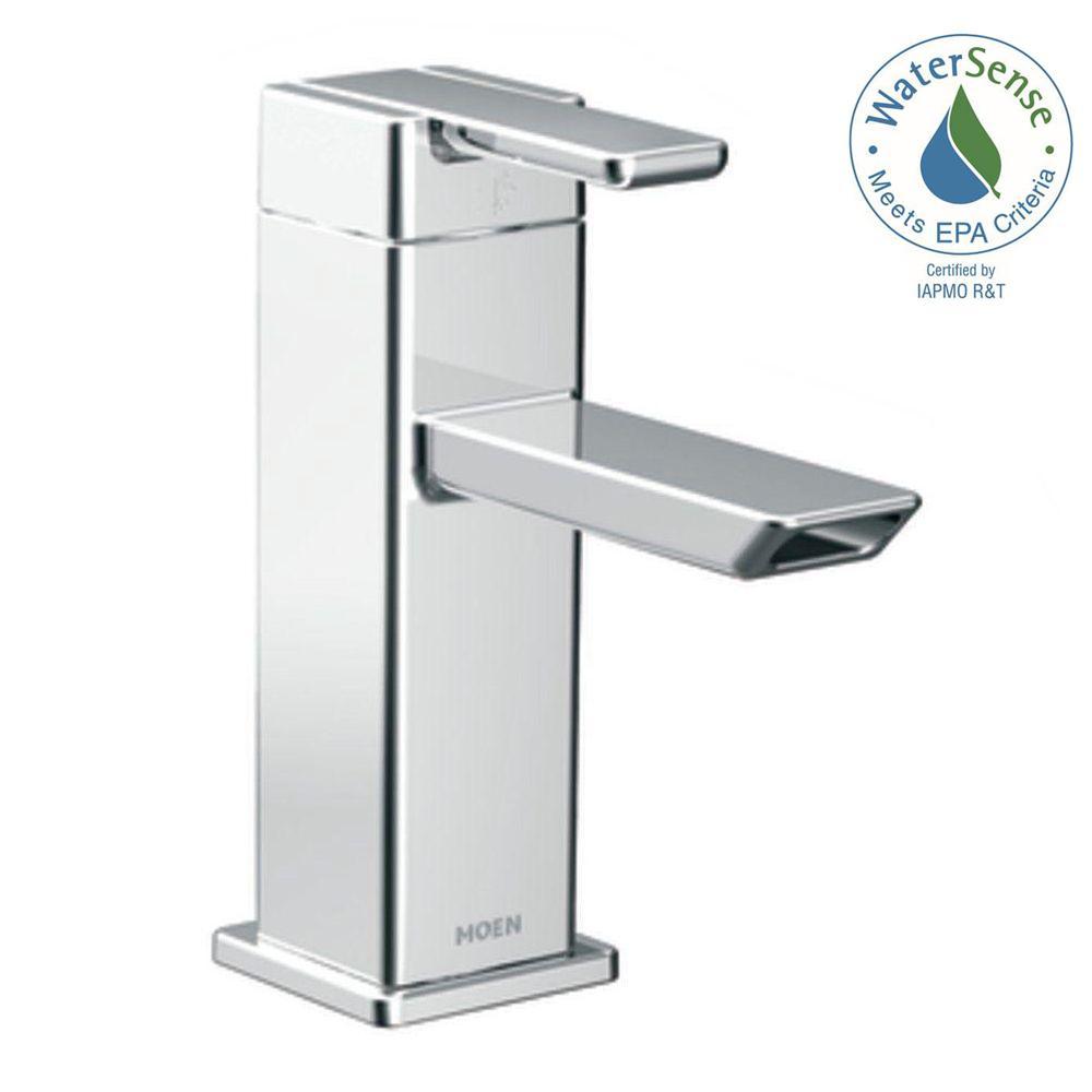 MOEN - Single Handle Bathroom Sink Faucets - Bathroom Sink Faucets ...