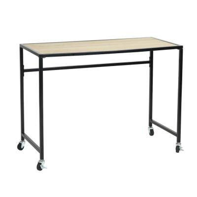 WAIKAIA Writing Table Desk with Wheels