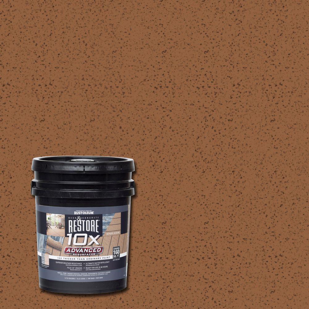 Rust-Oleum Restore 4 gal. 10X Advanced Timberline Deck an...