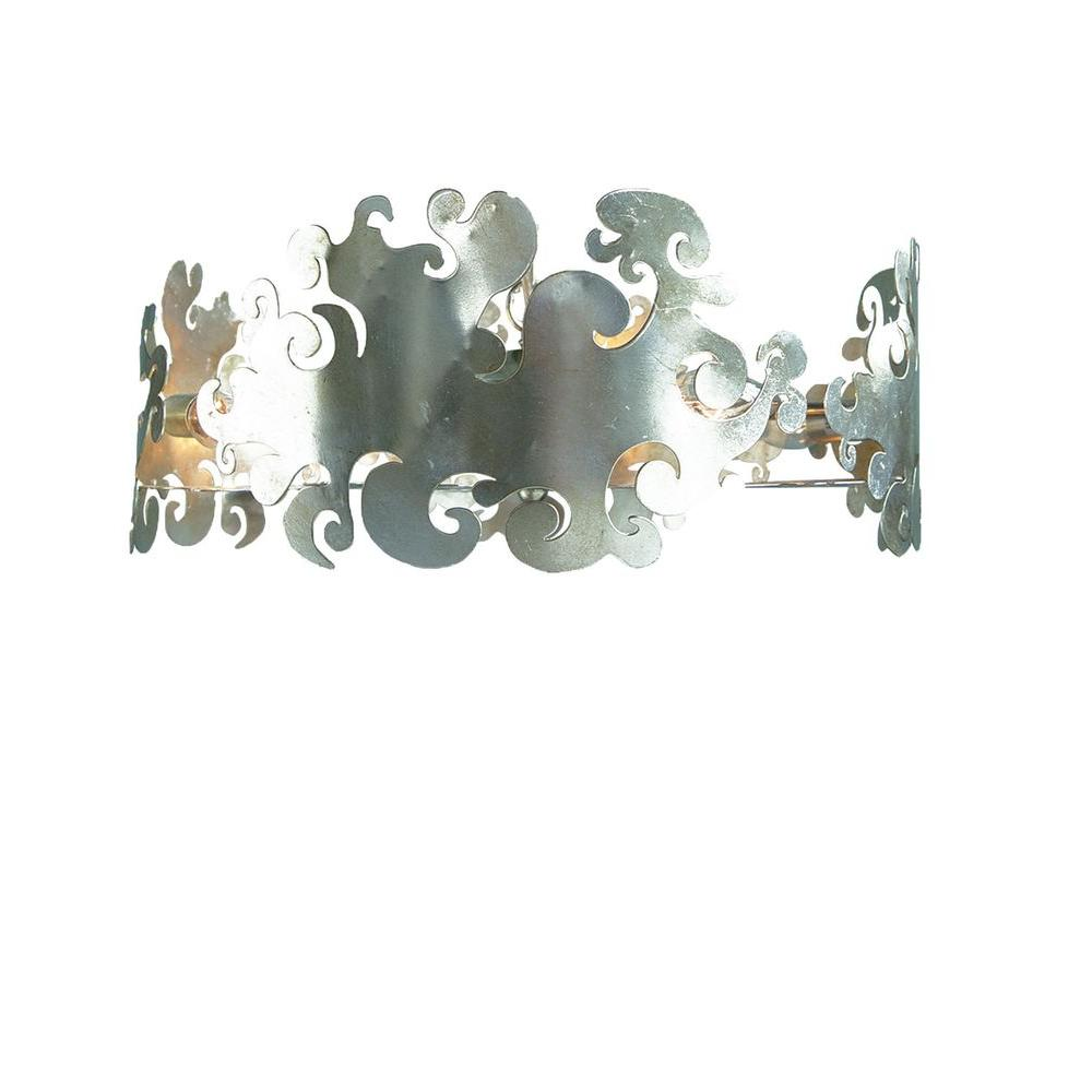 Filament Design Xavier 4-Light Champagne Incandescent Ceiling Pendant