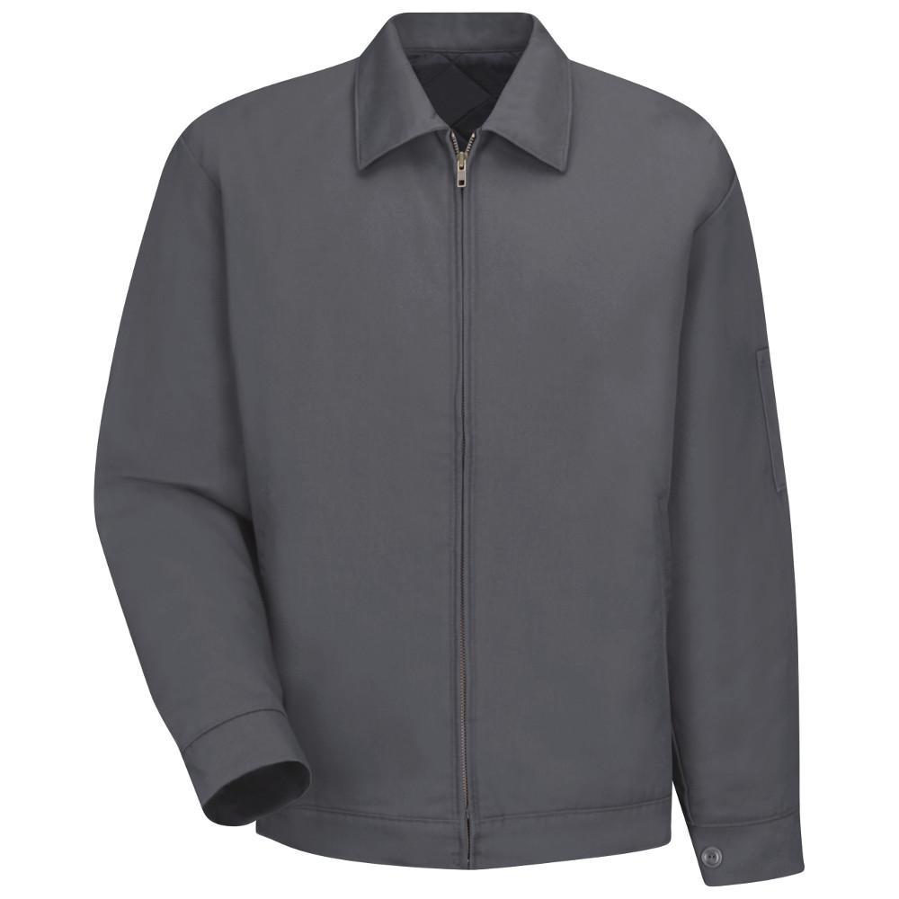 Men's Size 4XL (Tall) Charcoal Slash Pocket Jacket
