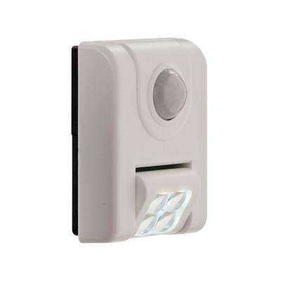 4-LED Sensor Night Light - White