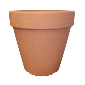 16 in. Round Terra Cotta Flower Pot