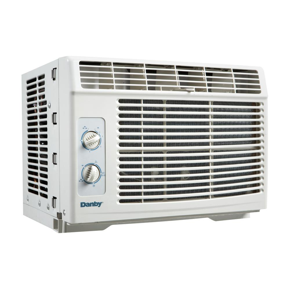 5000 BTU Window Air Conditioner in White