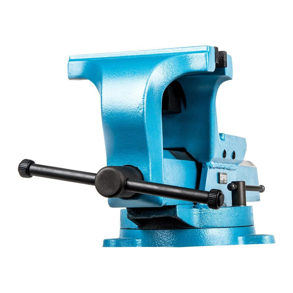 Capri Tools Ultimate Grip 6 In Forged Steel Bench Vise Cp10516 The Home Depot