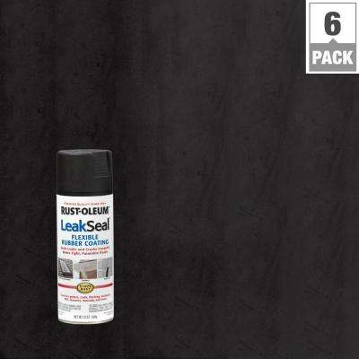 12 oz. LeakSeal Black Spray (6-Pack)