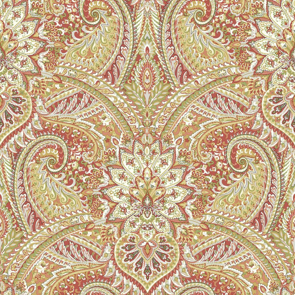 Paisley - Wallpaper - Decor - The Home Depot
