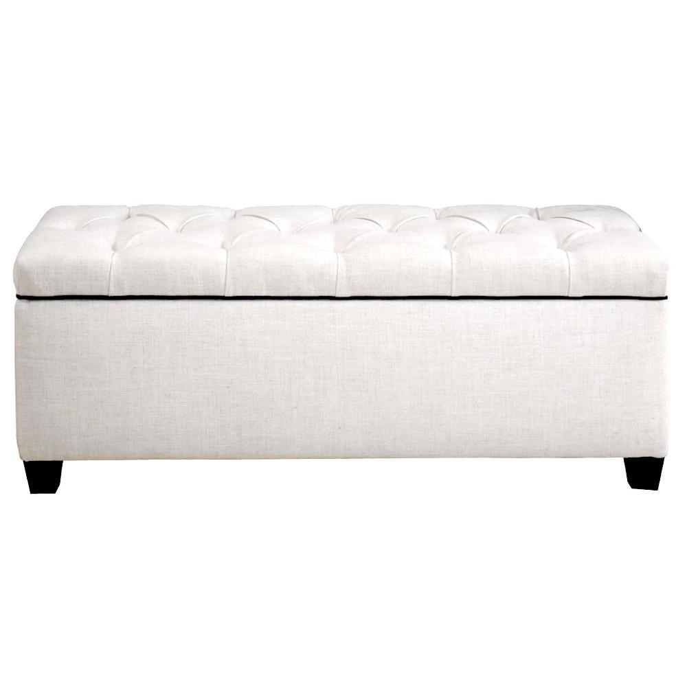 MJL Furniture Designs Sean Loft Magnolia Diamond Tufted Upholstered Large