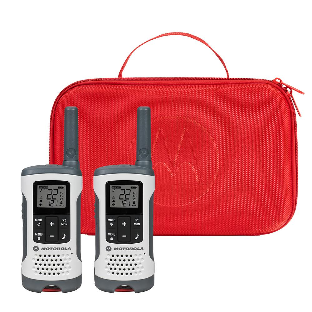 Motorola Emergency Preparedness Edition T280 2Way Radios 4-Pack