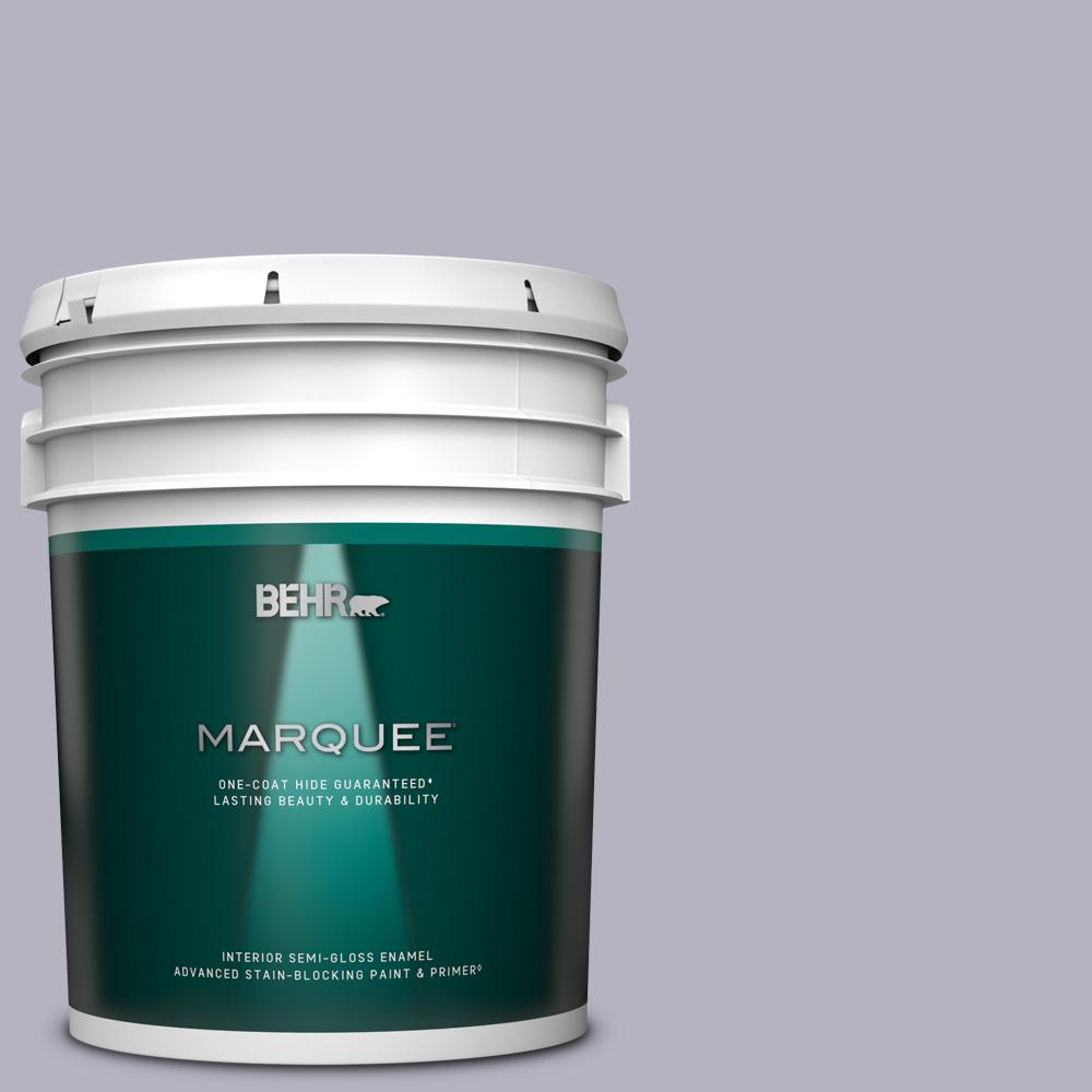 Behr Marquee 5 Gal N560 2 Coveted Gem Semi Gloss Enamel Interior Paint And Primer In One 345005 The Home Depot