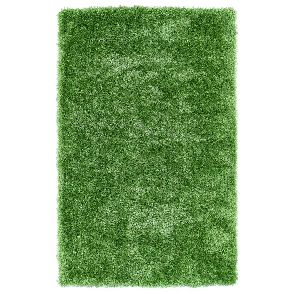 Lime Green Overdyed Rug: Kaleen Posh Lime Green 8 Ft. X 10 Ft. Area Rug-PSH01-96 8
