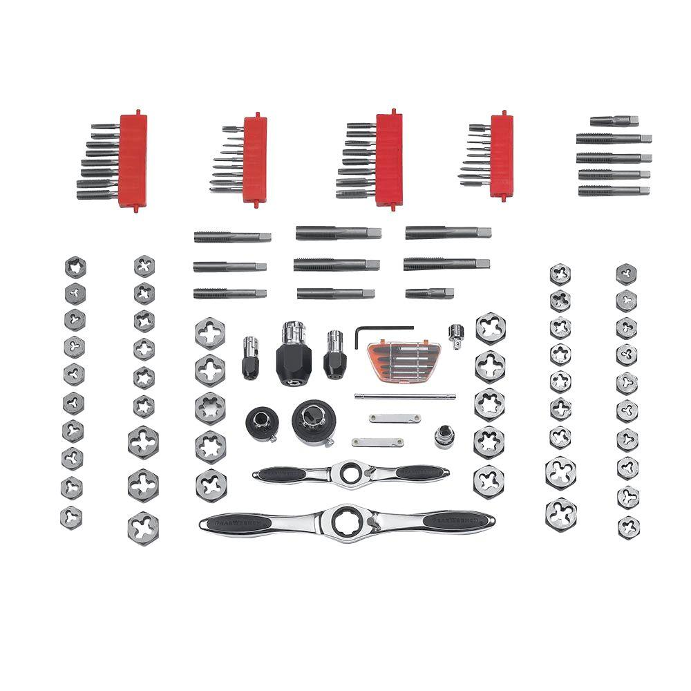 Ratcheting Tap and Die Set (117-Piece)