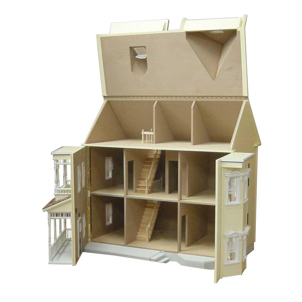 null Country Victorian Dollhouse Kit