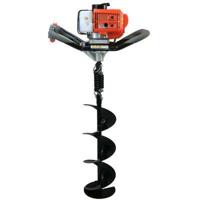 52cc Earth Auger Powerhead with 8 in. Bit