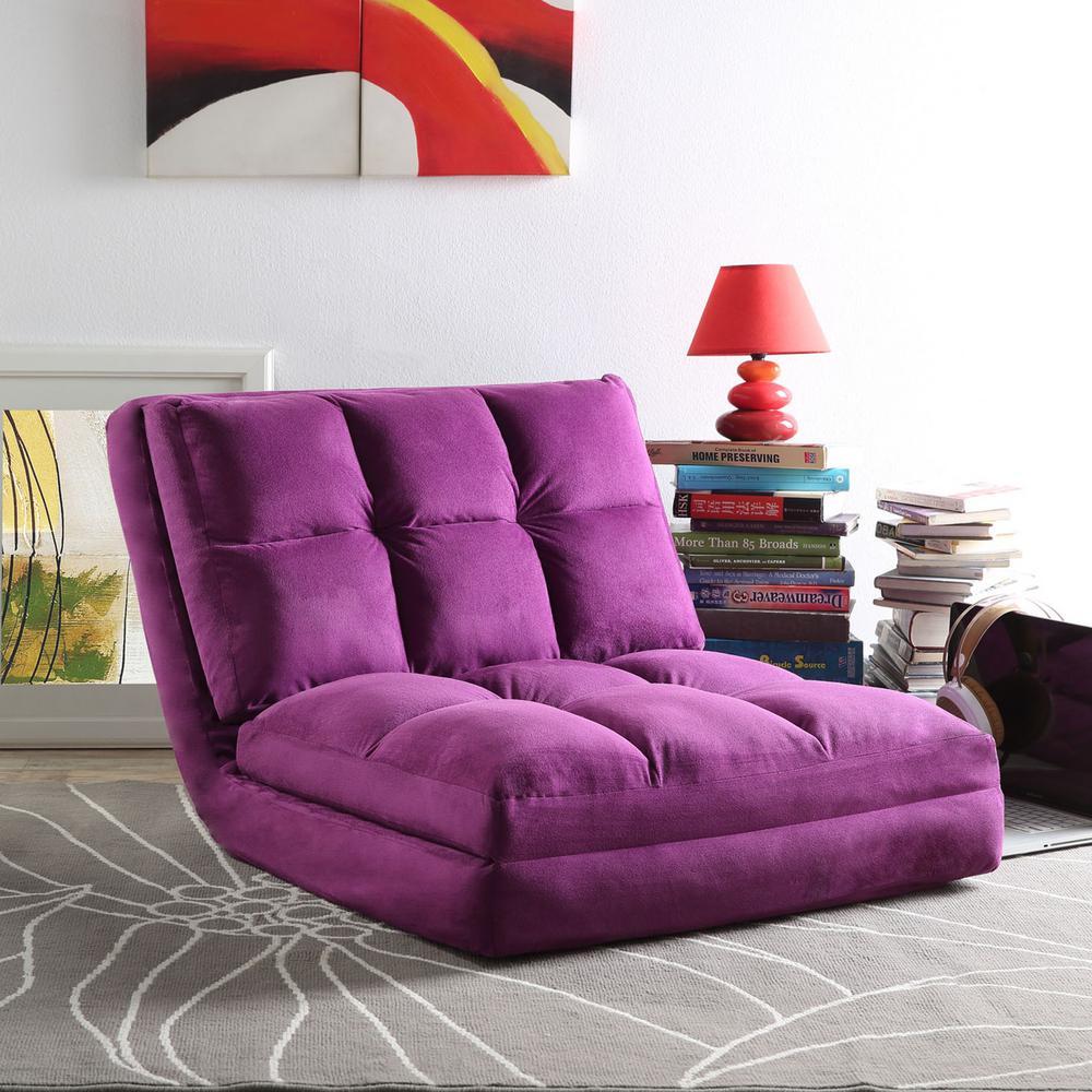 Flip Floor Chair Convertible Lounger