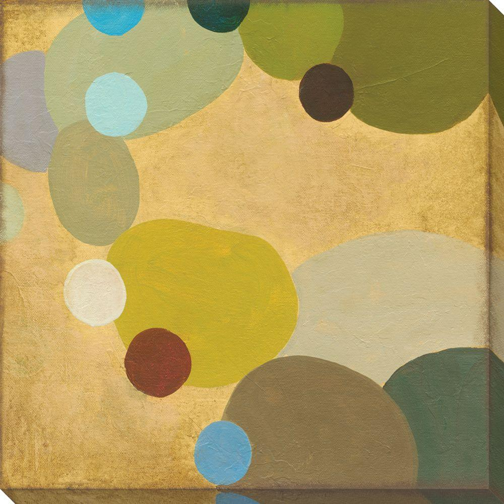 NEP Art 40 in. x 40 in. Commune X Oversized Canvas Gallery Wrap