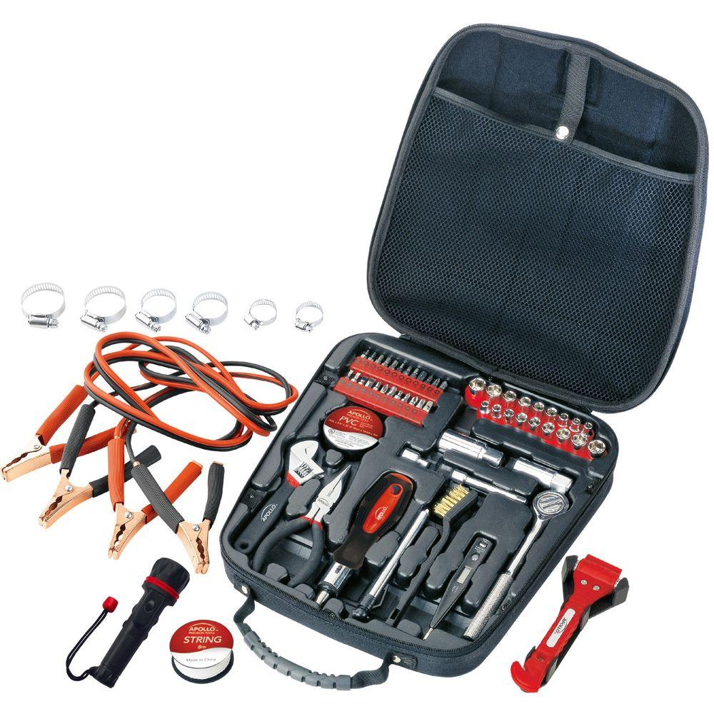 Travel and Automotive Tool Set (64-Piece)