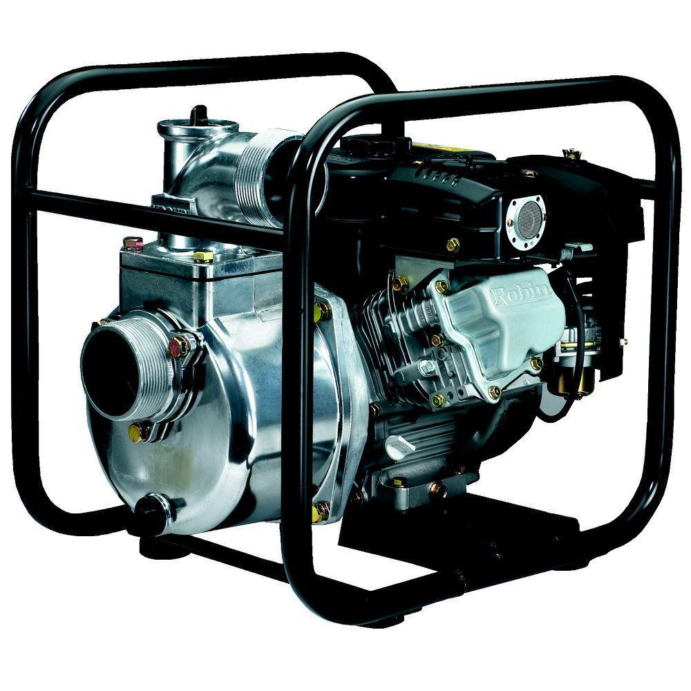 Koshin 3 in. 5.7 HP Centrifugal Pump with Robin Engine