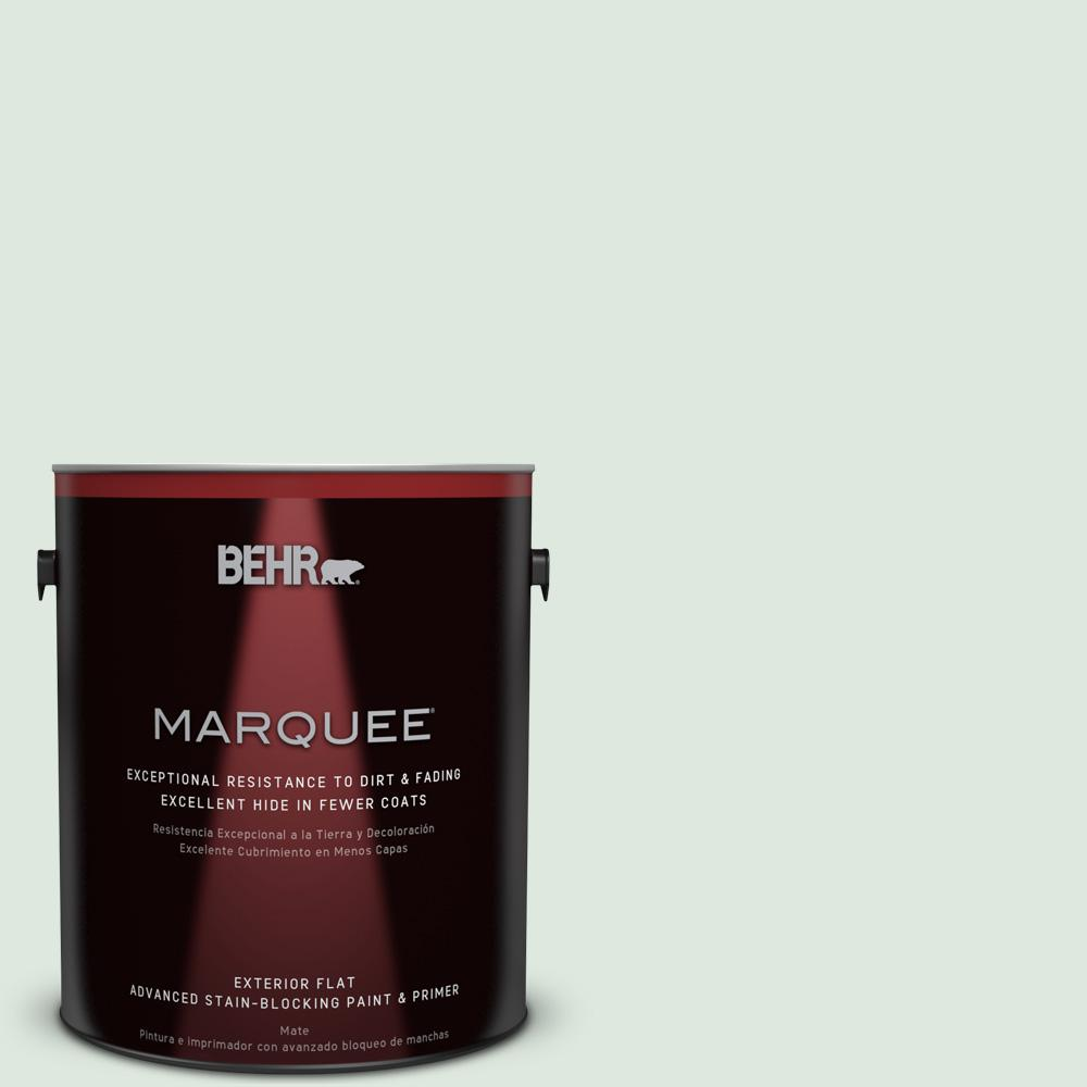 BEHR MARQUEE 1-gal. #460E-1 Meadow Light Flat Exterior Paint