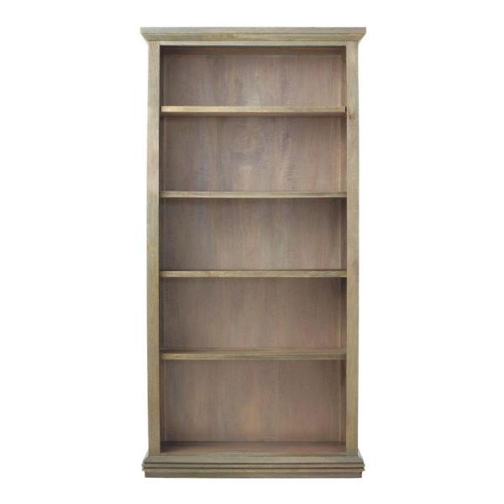 Home Decorators Collection Aldridge Antique Grey Open Bookcase 9414900270