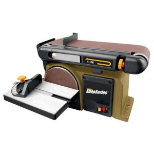 Rockwell 4.3 Amp 6 inch Disk 4 inch x 36 inch Belt Sander by Rockwell