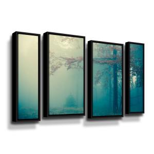 Artwall Waves Ii By Photoinc Studio Framed Wall Art 5pst207g3648f The Home Depot