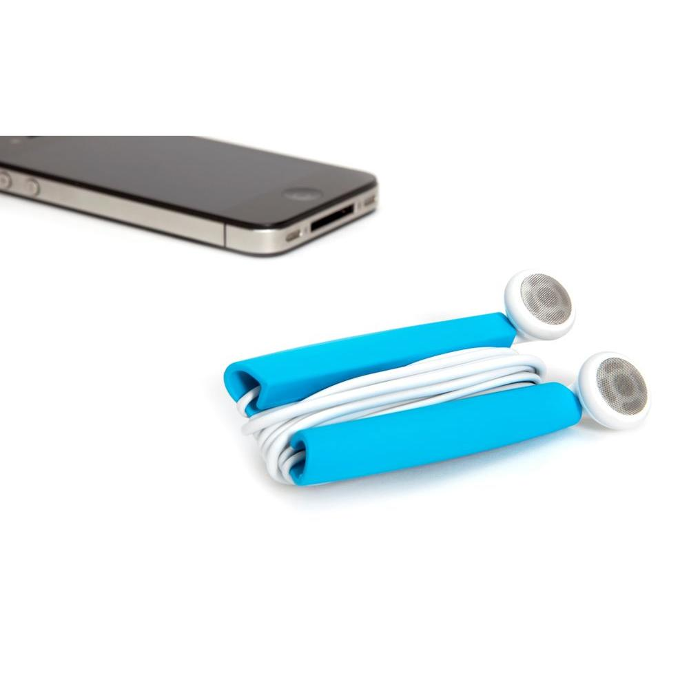 Quirky Wrapster Headphone Cord Management in Blue