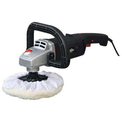 10 Amp 7 in. Corded Variable Speed Polisher/Sander