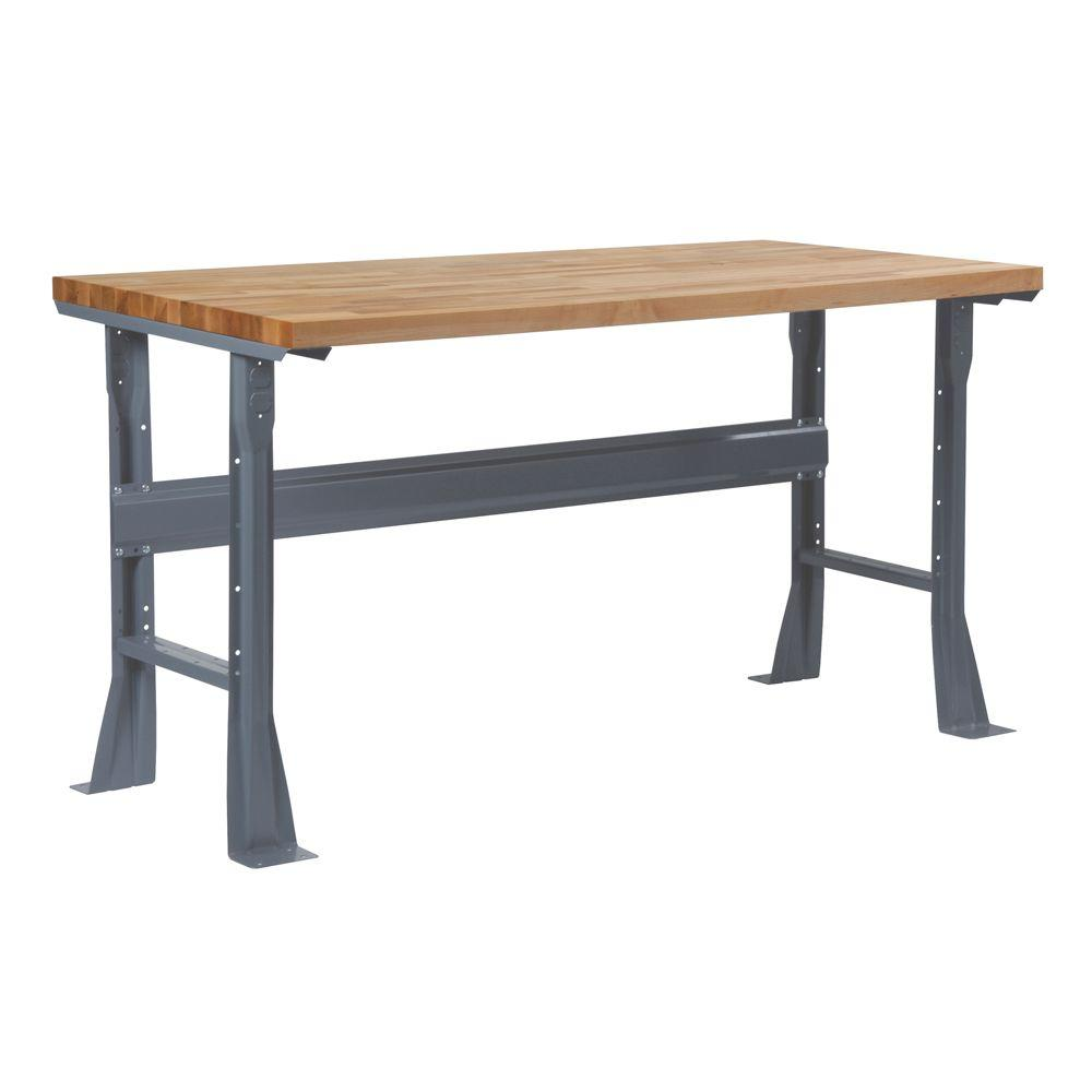 Pleasant Edsal 2 33 Ft H X 2 5 Ft W X 4 In D Flared Fixed Height Steel Work Bench Legs Andrewgaddart Wooden Chair Designs For Living Room Andrewgaddartcom