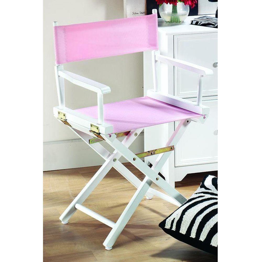 Home Decorators Collection Pink Seat and Back Cover for Director's Chair-Cover Only