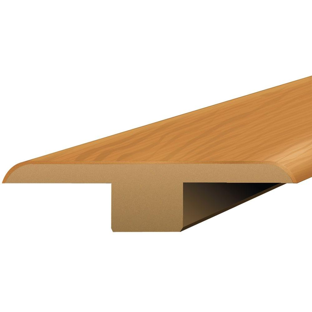 Shaw Natural Cherry 3/8 in. Thick x 1-3/4 in. Wide x 94 in. Length Laminate T-Molding