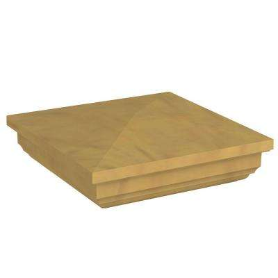 5 in. x 5 in. Vinyl Cypress New England Post Cap
