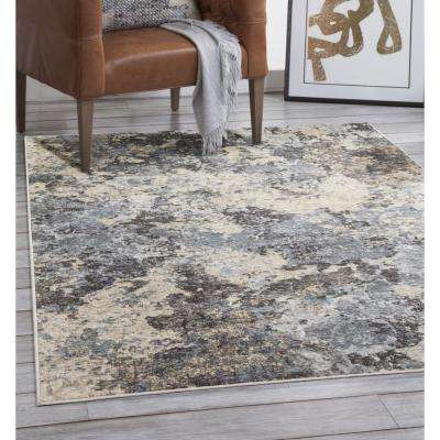 Sonoma Ramsey Blue/Grey/Charcoal/Ivory 5 ft. 3 in. x 7 ft. 6 in. Area Rug
