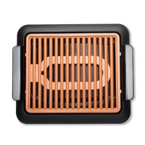 Deals on Gotham Steel 120 sq. in. Black Copper Smokeless Indoor Grill