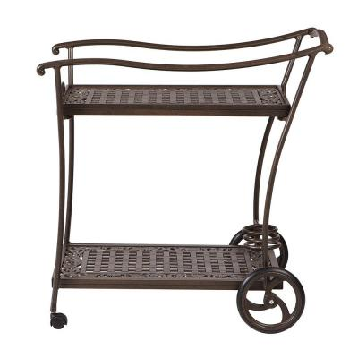 Madrid Bronze Patio Serving Trolley