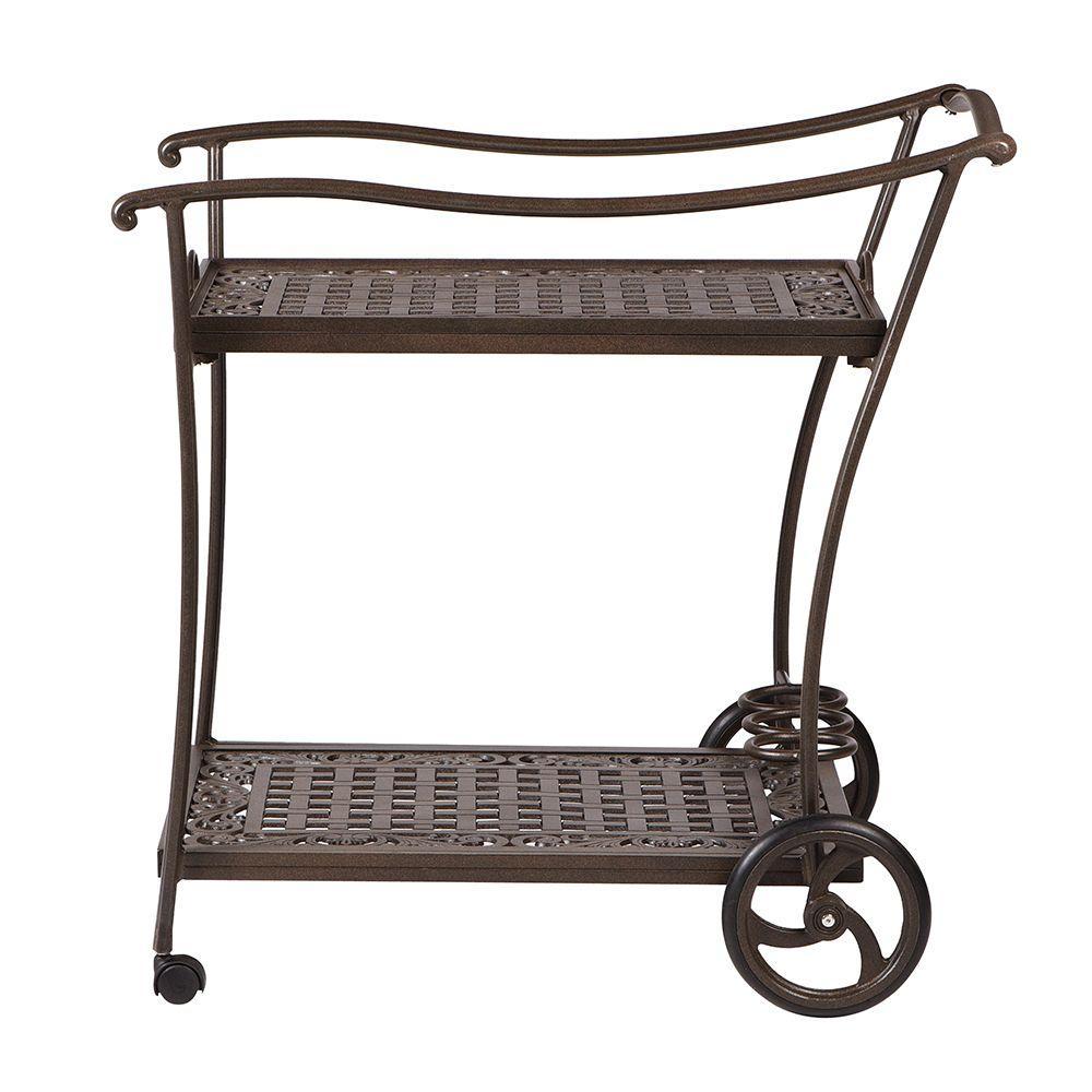 Wheels Outdoor Bar Carts Outdoor Bar Furniture The Home Depot
