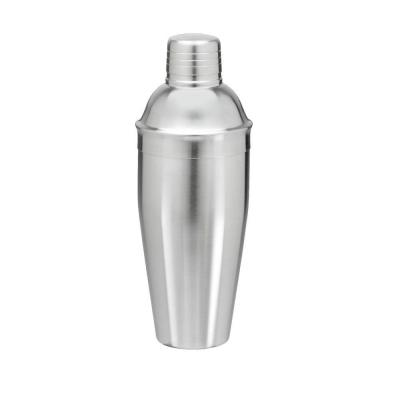 24 oz. Cocktail Shaker in Brushed Stainless Steel