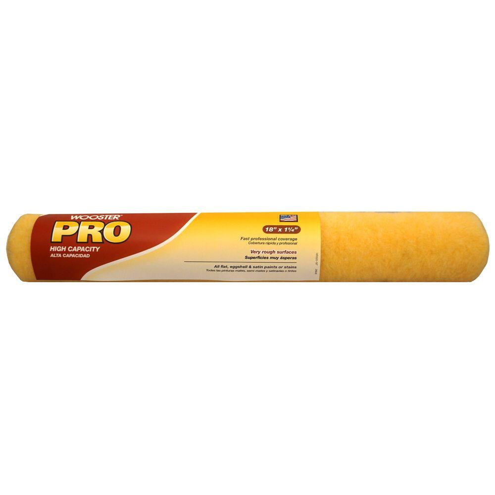 Wooster pro 18 in x 1 1 4 in knit roller cover for Paint pros