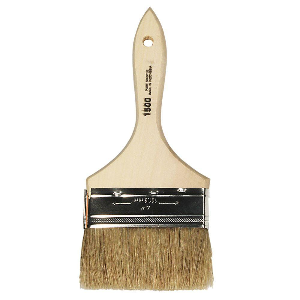 4 in. Flat Chip Brush