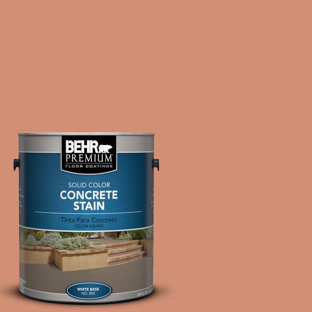 1 gal. #PFC-12 Nuevo Terra Solid Color Interior/Exterior Concrete Stain
