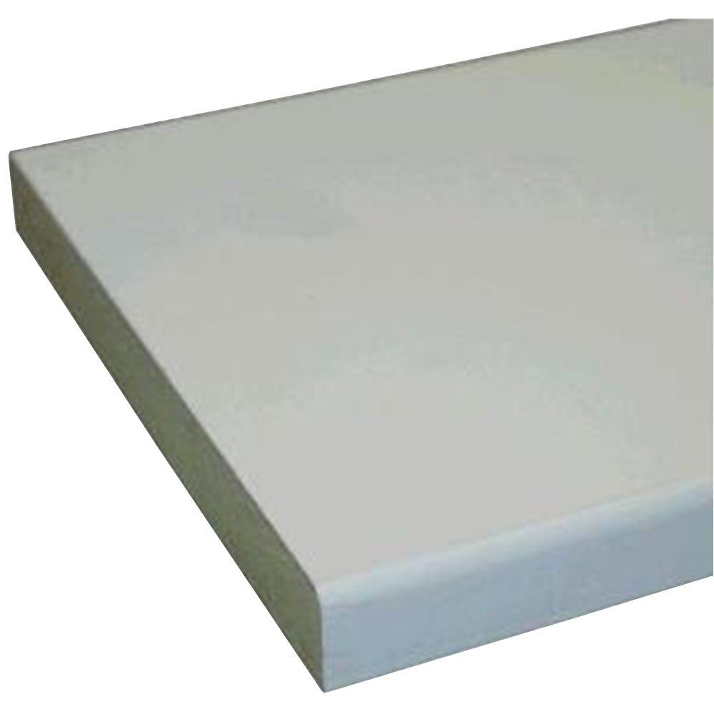 1 in. x 5 in. x 10 ft. Primed MDF Board