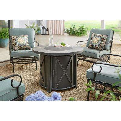 Amelia Springs 5-Piece Patio Conversation Set with Spa Cushions