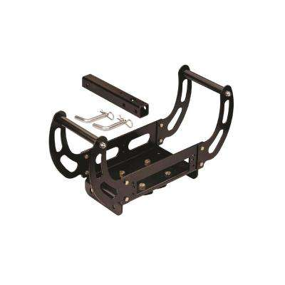 Large 4-Bolt Pattern Portable Winch Cradle Hitch Mounting Kit for Winches Up to 9,000 lbs.