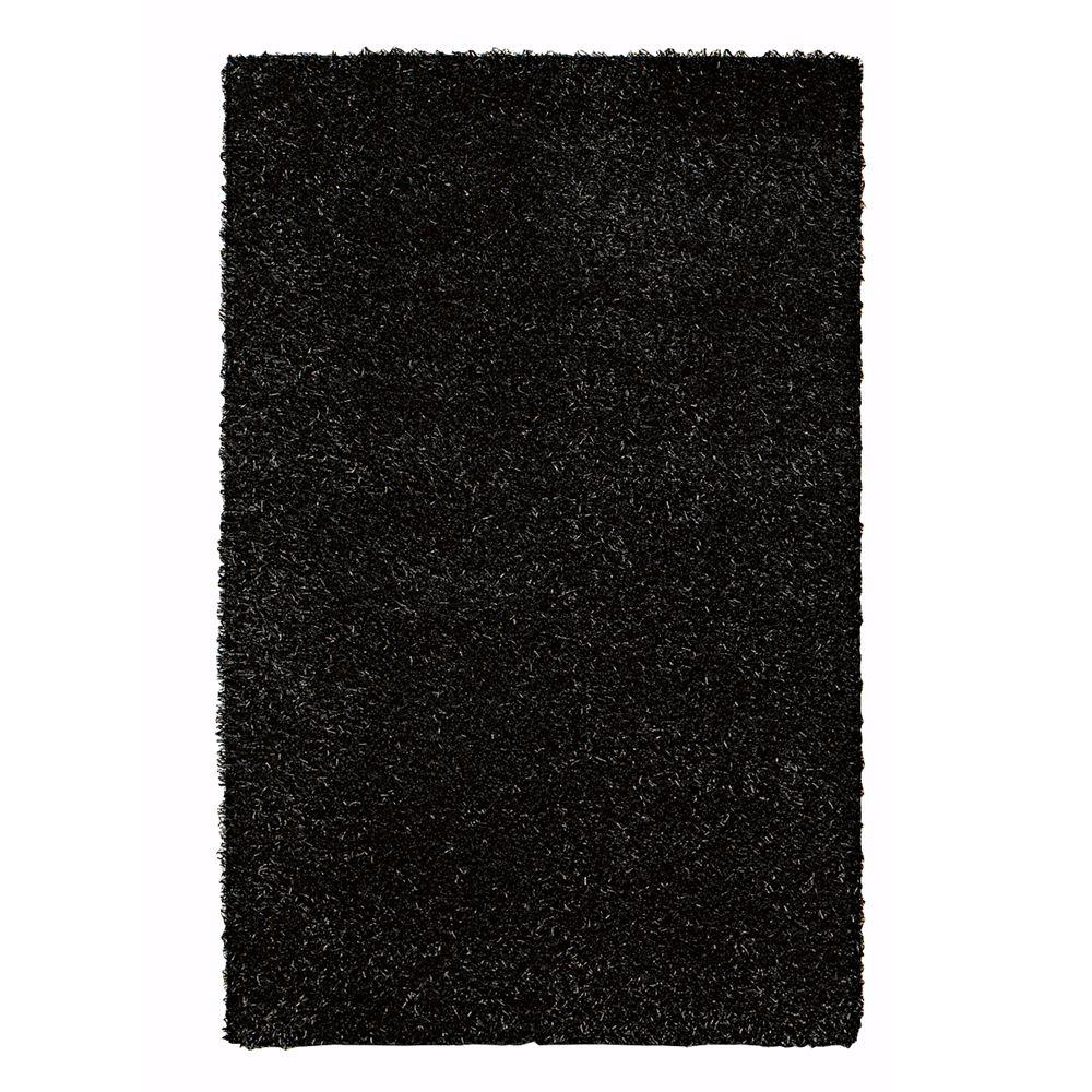 Home Decorators Collection Glitzy Black 8 ft. x 10 ft. 6 in. Area Rug