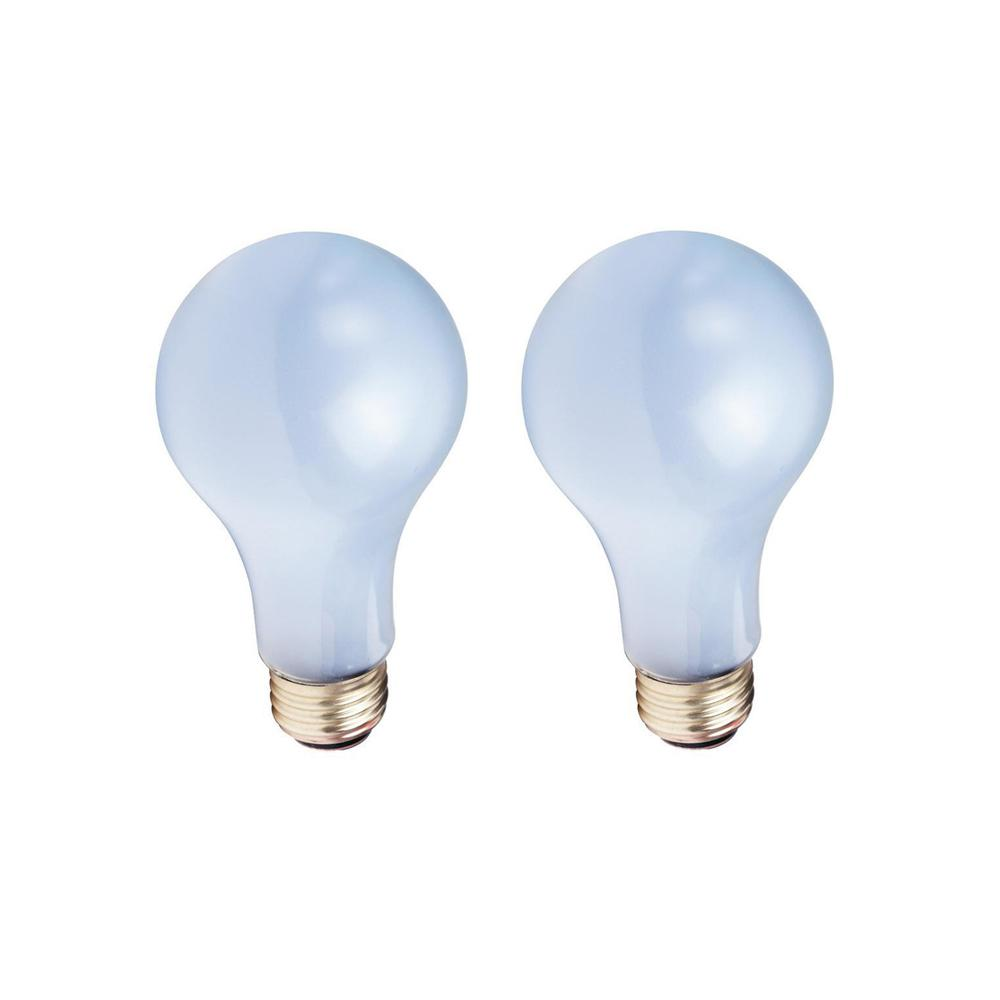 EcoSmart 50-100-150-Watt A21 3-Way Incandescent Light Bulb (2-Pack)