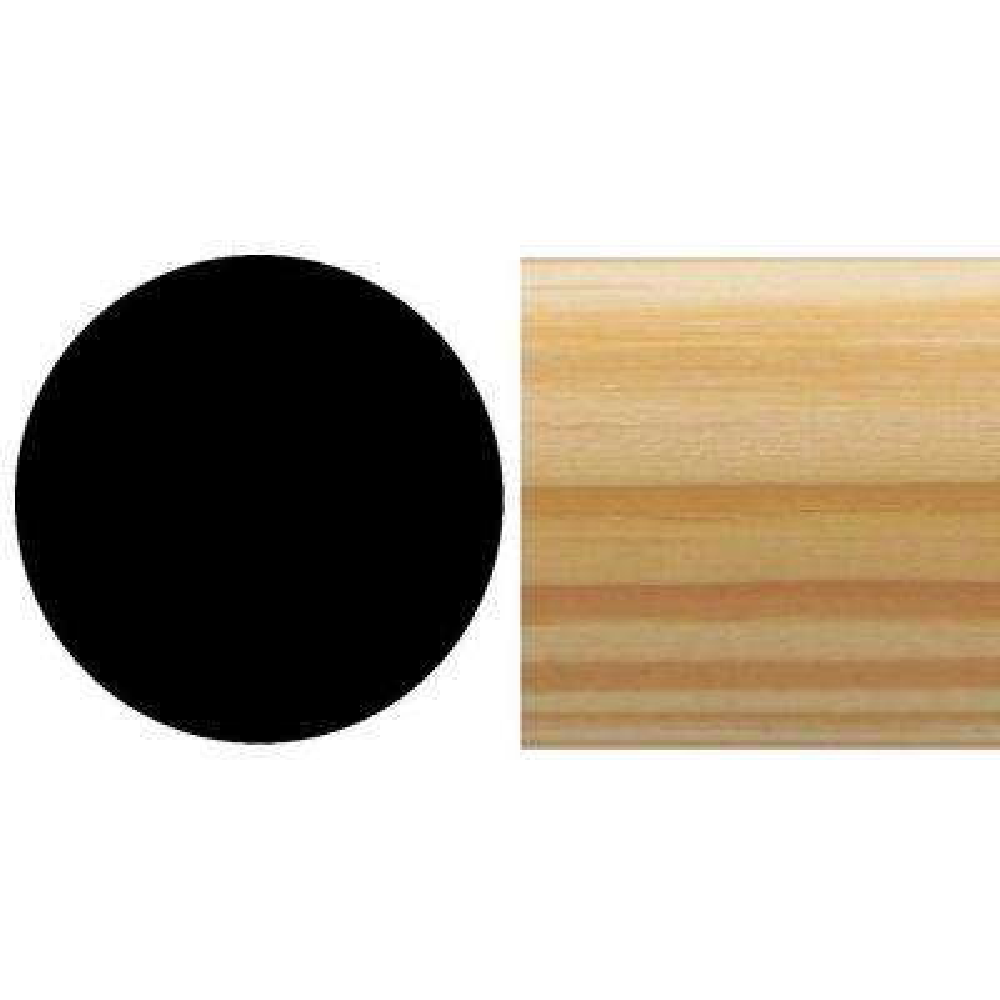 600802320 1-15/32 in. x 1-15/32 in. x 96 in. Pine Closet Pole/Rod Moulding