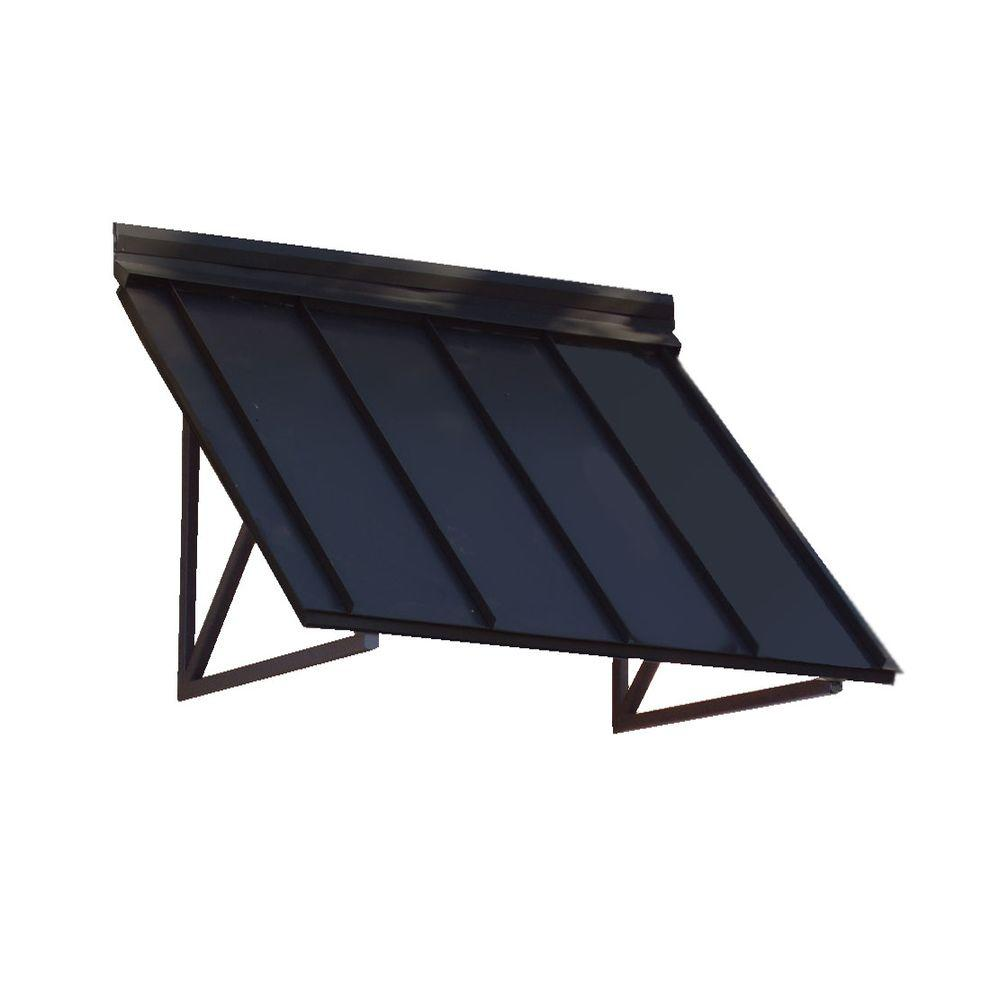 Beauty-Mark 8.6 Ft. Houstonian Metal Standing Seam Awning