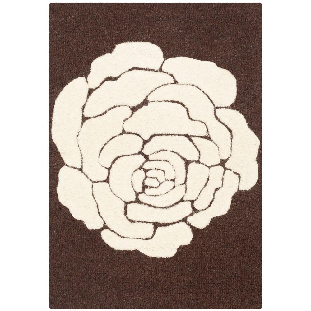 Cambridge Brown/Ivory 3 ft. x 5 ft. Area Rug